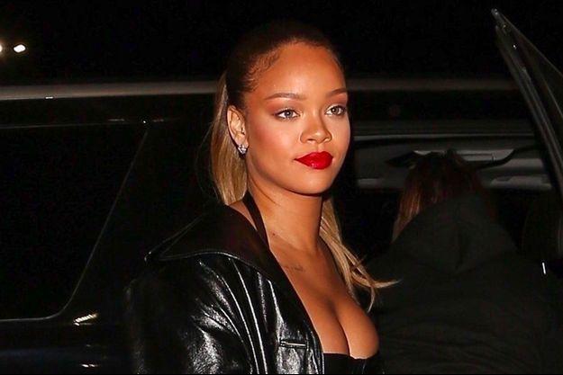Rihanna au concert de J. Z à Los Angeles, le 21 décembre 2017