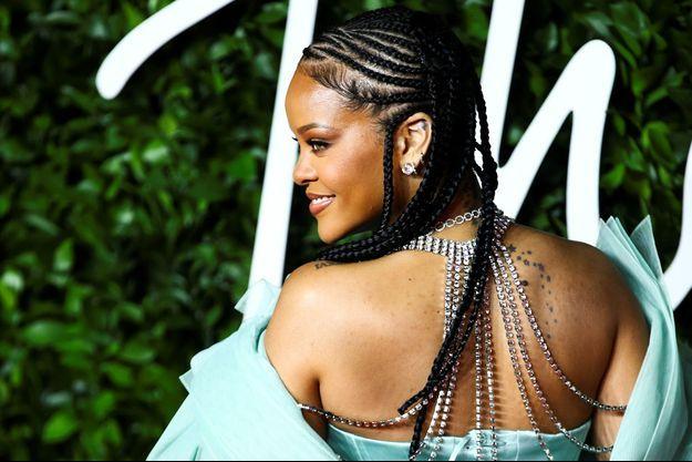 Rihanna en décembre à Londres.