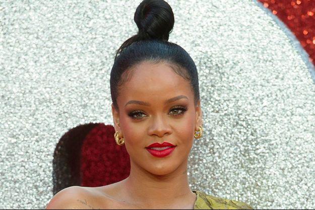 Rihanna à Londres le 13 juin 2018