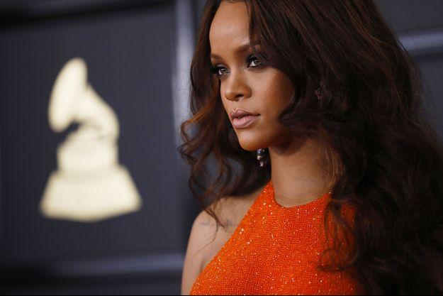 Rihanna en février dernier.