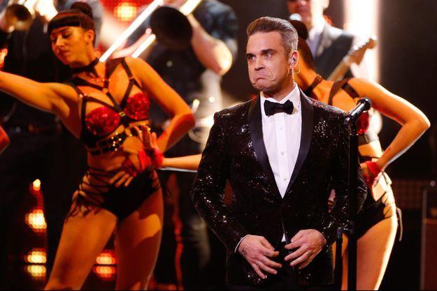 Robbie Williams, en concert le 17 novembre 2016 à Berlin