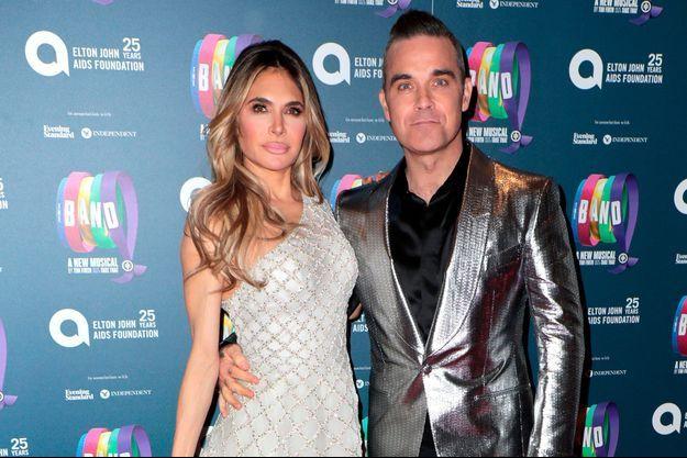 Découvrez le prénom de son quatrième enfant — Robbie Williams