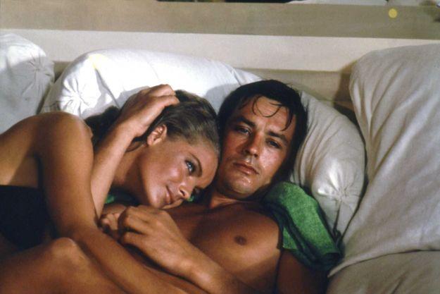 Romy Schneider et Alain Delon dans «La Piscine» en 1968.