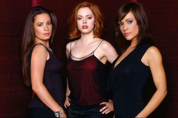 """Holly Marie Combs, Rose McGowan et Alyssa Milano à l'époque de """"Charmed""""."""