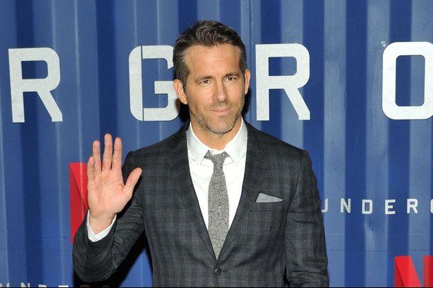 Ryan Reynolds à New York en décembre 2019.