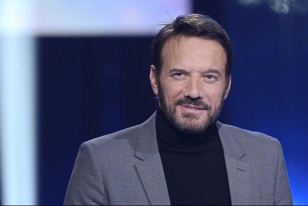 """Samuel Le Bihan sur le plateau du """"Téléthon"""", le 7 décembre."""
