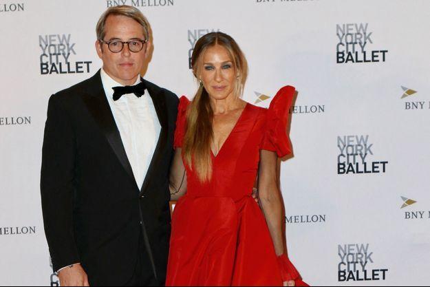 Sarah Jessica Parker et Matthew Broderick à New York en septembre 2018.