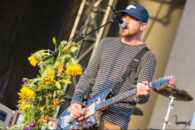 Jesse Lacey de Brand New lors d'un concert à Chicago en septembre 2016.