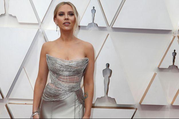 Scarlett Johansson lors de la cérémonie des Oscars le 9 février 2020 à Hollywood.