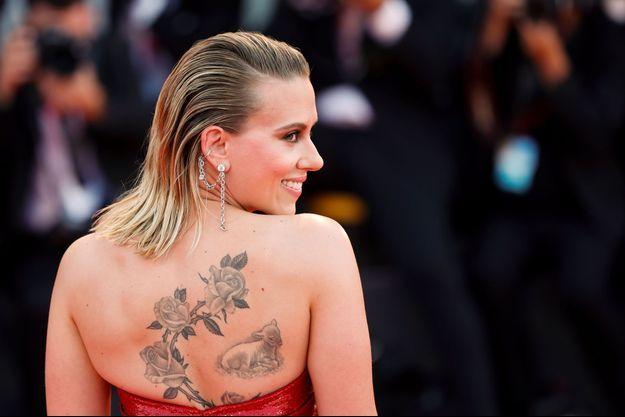 Scarlett Johansson lors du Festival de Venise le 29 août 2019.