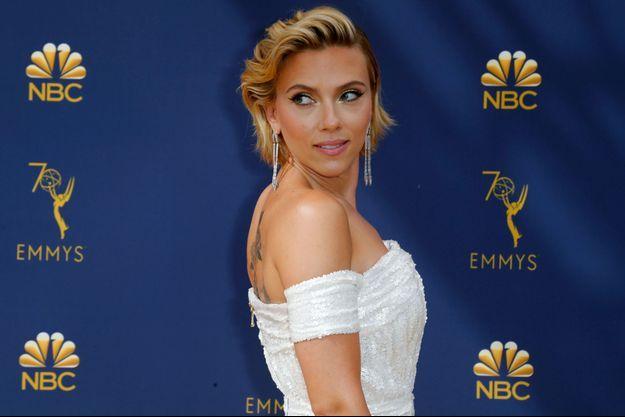 Scarlett Johansson, ici en septembre 2018 à Los Angeles.