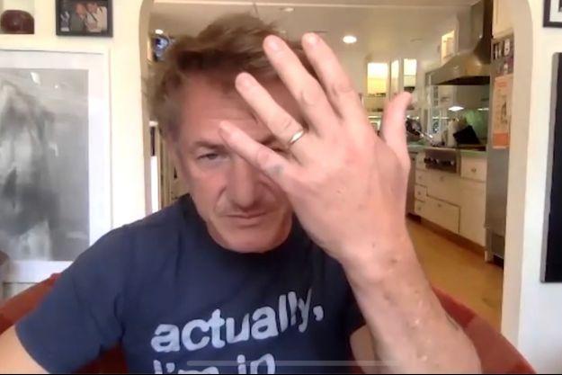 Sean Penn en août 2020.