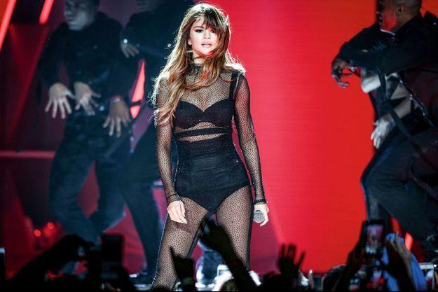 La star sur scène