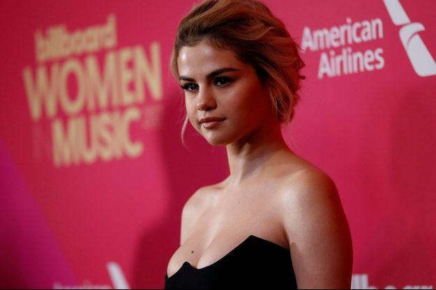 Selena Gomez en décembre 2017.