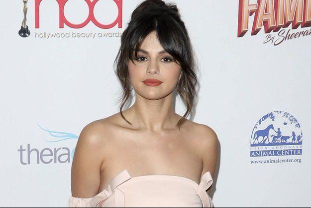 Selena Gomez en février 2020