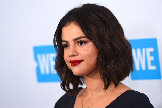 """Selena Gomez au """"WE Day California To Celebrate Young People Changing The World"""" à Inglewood, le 19 avril 2018"""