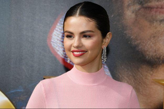 Selena Gomez en janvier 2020.