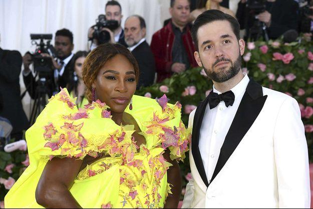 Serena Williams et Alexis Ohanian en mai 2019