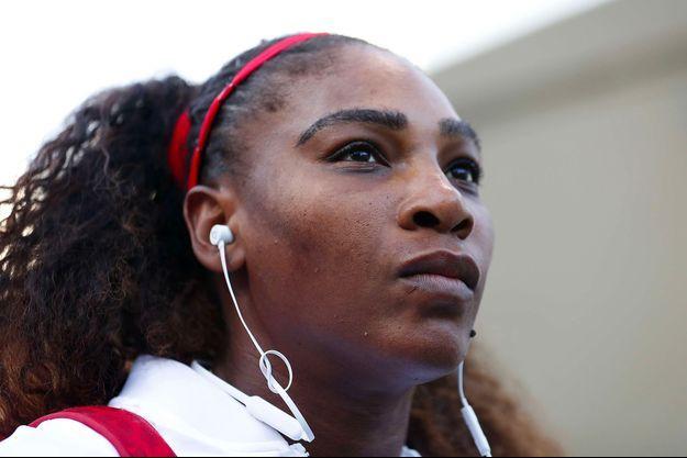 Serena Williams à San José, le 31 juillet 2018