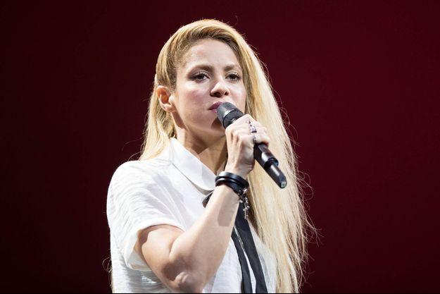 Shakira en concert en Allemagne