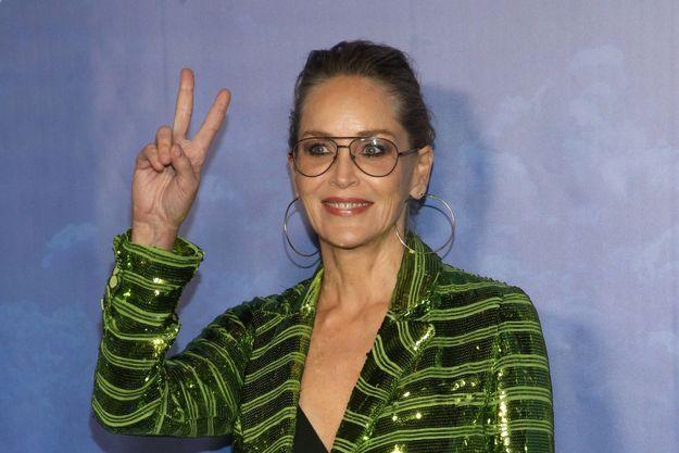 Sharon Stone en février 2020, à Los Angeles.