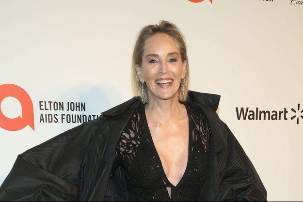 Sharon Stone à Los Angeles en février 2020.