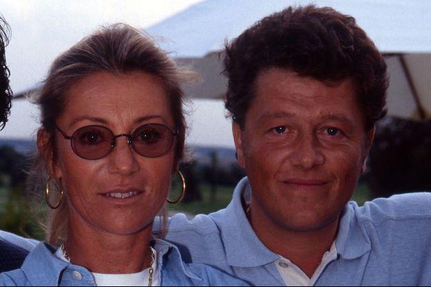 Sheila et Yves Martin en 1994.