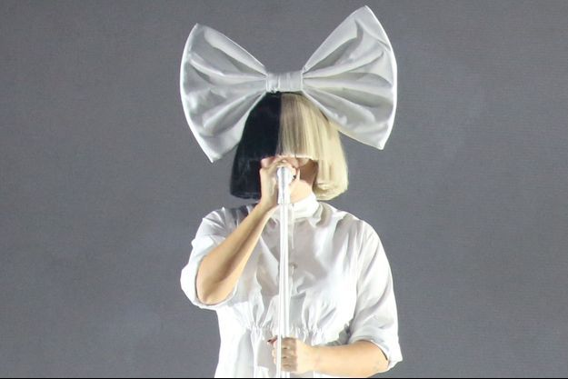 Sia en concert à Sydney en décembre 2017.