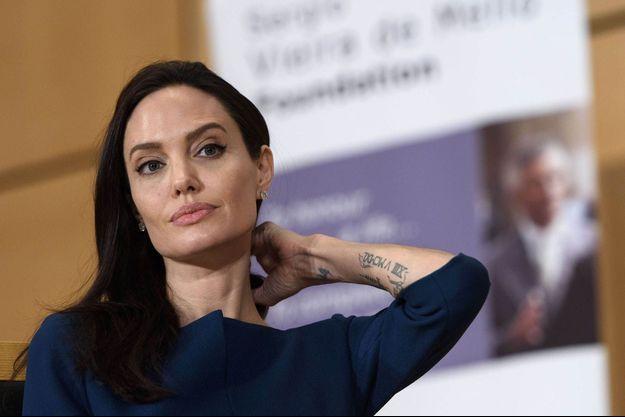 Angelina Jolie à Genève, le 15 mars 2017.