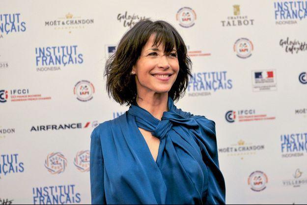 Mars 2016. Sophie Marceau au festival Goût de France, où elle représentait Cyril Lignac.