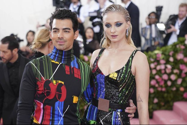 Joe Jonas et Sophie Turner au Met Gala en mai 2019