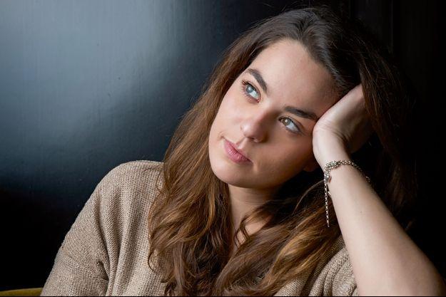 Anouchka Delon joue actuellement dans «Libres sont les papillons» au théâtre Rive gauche, à Paris.