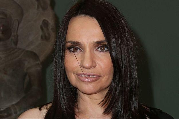 Béatrice Dalle le 27 janvier 2016.