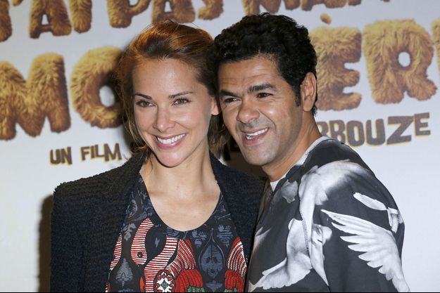 """Mélissa Theuriau et Jamel Debbouze à l'avant-première du film """"Pourquoi j'ai pas mangé mon père"""" en mars dernier."""