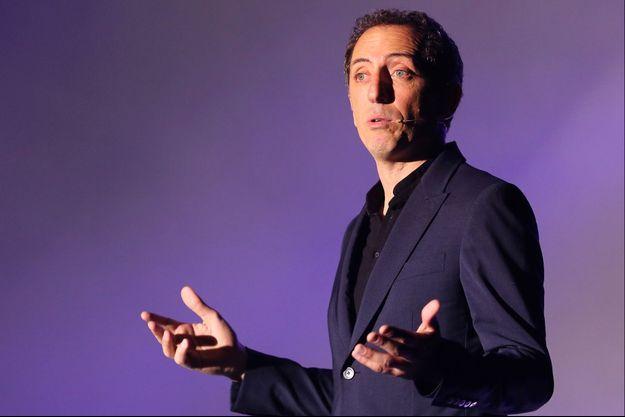 Gad Elmaleh sur scène à Bordeaux, le 28 septembre 2014