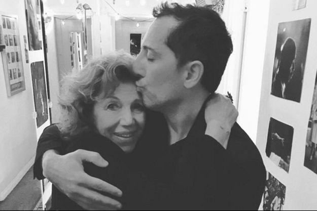 Gad Elmaleh: moment complice avec sa mère, Régine