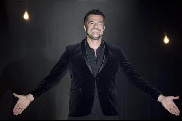 Arnaud Ducret sur scène.