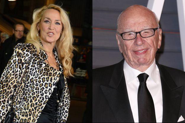 Jerry Hall et Rupert Murdoch se fréquenteraient en secret depuis quelques semaines.