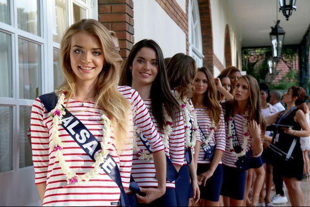 Miss Alsace à Tahiti.