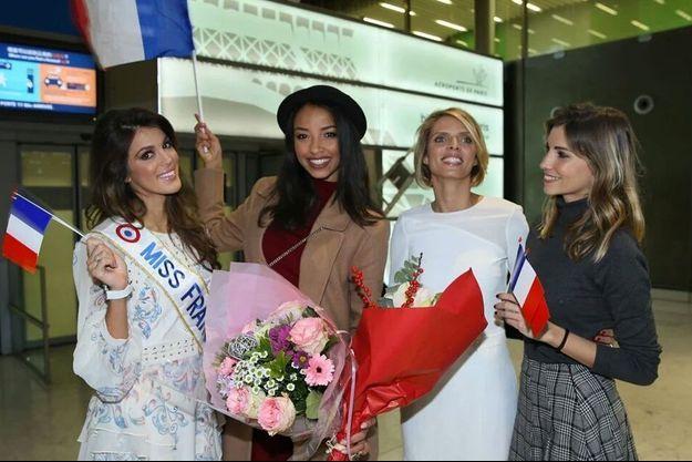 Iris Mittenaere, Flora Coquerel, Sylvie Tellier et Alexandra Rosenfeld