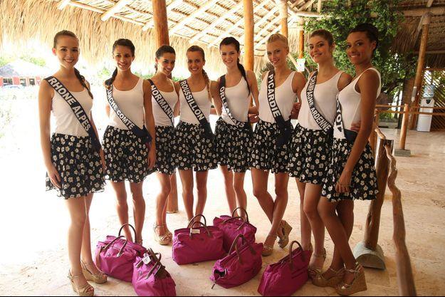 Les Miss à Punta Cana le 16 novembre 2014