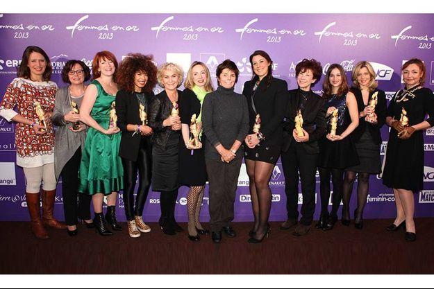 Les lauréates de la 21e édition des Femmes en or.