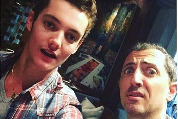 Louis Sarkozy, le fils de l'ex-président de la République, est très actif sur les réseaux sociaux.
