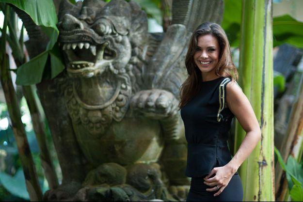 Marine Lorphelin à Bali dans le cadre du concours Miss Monde 2013.