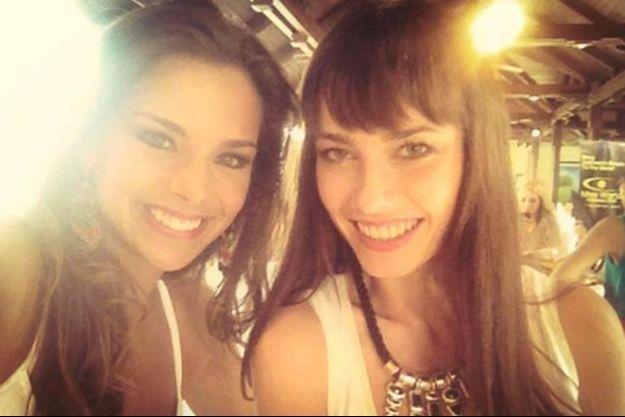 Marine Lorphelin et Ena Kadic avaient noué une amitié lors du concours Miss Monde.