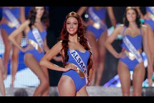 Miss France en Wonder Woman.
