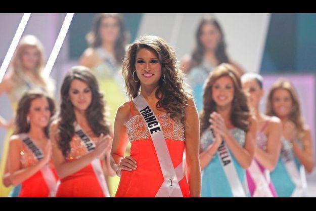 Laury Thilleman, lors du concours Miss Univers 2012