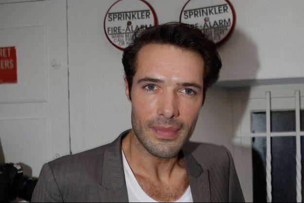 Nicolas Bedos à Paris, le 11 juin 2014