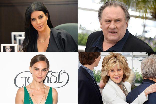 Kim Kardashian, Gérard Depardieu, Natalie Portman et Jane Fonda... Les déclarations à ne surtout pas louper.