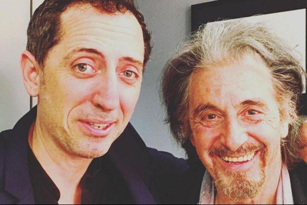 Gad Elmaleh et Al Pacino
